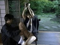 Mana Ueda Geisha Suspension Bondage Video