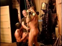 BDSM party with bondage