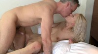 Banging On Bed With Hot Blonde Girl (720)