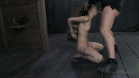 20yr innocent girl next door, finds out what bondage & deep brutal throat fucking are all about!
