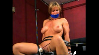 Fitness Competitor Chair Bound Orgasm Torment