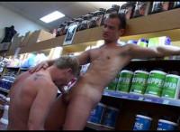 dick sucking big dick uncut cock - (Muscle Shop)