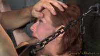 Redheaded MILF Veronica Avluv bound and fucked rough and hard, massive squirting multiple orgasms!