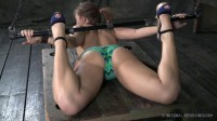 Bondage and Breath Play Make Maddy Cum