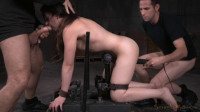 Amy Faye bent over and bound doggystyle