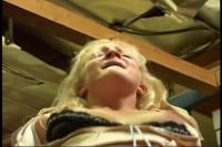 Beautiful blondie loves it hard