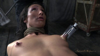 Wenona get roughly deep throated, her huge nipples bound so she must keep her legs raised!