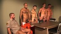 TitanMen Exclusive Hunter Marx with the Entire Cast - Inmates - Scene 5