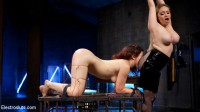 Lesbian Porn Crush: Predicament bondage, fisting & anal electrosex!