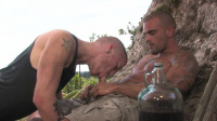 Drenched In Piss County — Hardcore Fetish Series Pissing 4