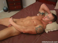 Husky Jay McQuay Jerks Off (480p) - gay cam WC.