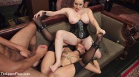 Fresh Pussy Slave Degraded and Brutally Fucked