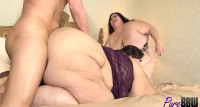 BBW Babes Apple And Lola Get Fucked Together