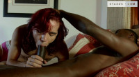 Experienced bitch for black dick! - anal sex, white boy, black dick!