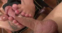 Domination IX - Cum At Her Feet 1
