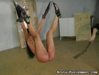 Tit Whipping Bdsm Rope Action