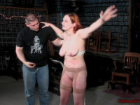 BoundDesires - Busty Redhead Abuse