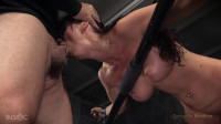 Part two of Syren de Mers BaRS show with rough brutal fucking and challenging deepthroat on BBC