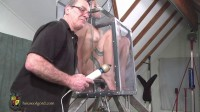 Houseofgord - Fucked and Vibrated in a Glass Box  HD 2015