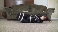 Enchantress Sahrye Catsuited Hogtie Seductively Struggling (2015)