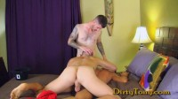 Jordan Thomas Gets Double Stuffed — DirtyTony