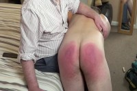 Straight Lads Spanked — Oliver — Bath Brush Beating