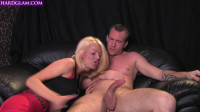 Gorgeous Tia Layne catches boyfriend wanking! 1