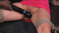 Asia Zo tries bondage for the first time, brutal drooling deepthroat on BBC!