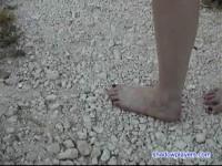 Naked Slavegirl Labor