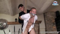 The Cheater Part 2. Screaming out loud Raul gets his cock and balls tortured (2012)