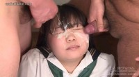 Asian cute girl have cum shots all muzzles