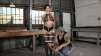 Enchantress Realizes His Hogtie Is No Joke - The Beautiful Enchantress Sahrye