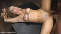 Tied and Helpless Anal Captive