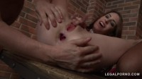 Anna De Ville And Rebecca Volpetti lick And fist each others ass and fuck with 3 guys (2016)