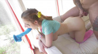 Stella Cox , Bryan Gozzling (Ass-Reaming, Pussy-Squirting Hookup)