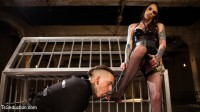 Yes, Mistress – Devoted Slave Worships Hot Dominatrix Cock