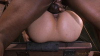 Tiny Asian girl in bondage shoot & squirting orgasms