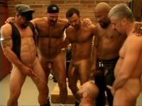 Rough Gangbang With Mature Bears