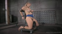 RTB - Busty Angel Allwood orgasmblasted on sybian and does inverted deepthroat! - Oct 14, 2014