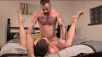 Brandon Jones and Chris Bines - super, gay, watch, tiny
