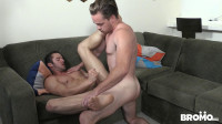 porn while (Bromo - Bareback Cruising - Part 3 - Lucas Knight Fucks Logan Cruise)...