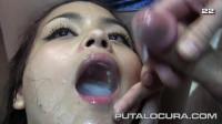 Big tits cum fed
