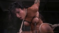 Sadie Santana Strictly Restrained In Brutal Bondage, Multiple Orgasms, Drooling Deepthroat!