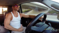 Jerking and Driving with Johnny Sins mpeg