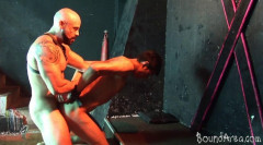 Room punishment! (anal, oral sex, weird, tattoos) . Delicious Hot Gay movi