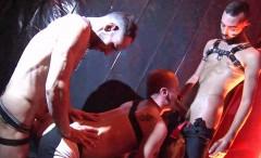 Fostter Riviera, Joe Bexter Ken Taylor in Stage Fucking Bareback
