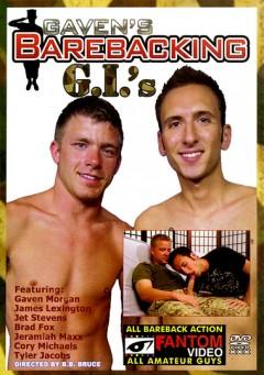 Gavens Barebacking GIs gay porn