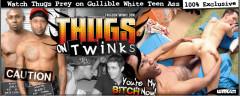 Negros fuck white boys (8 scenes)
