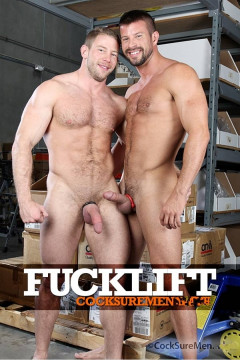 CocksureMen - Fucklift: (Shay Michaels & Kyle King)