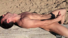 Brock Goes Back To The Beach free gay video